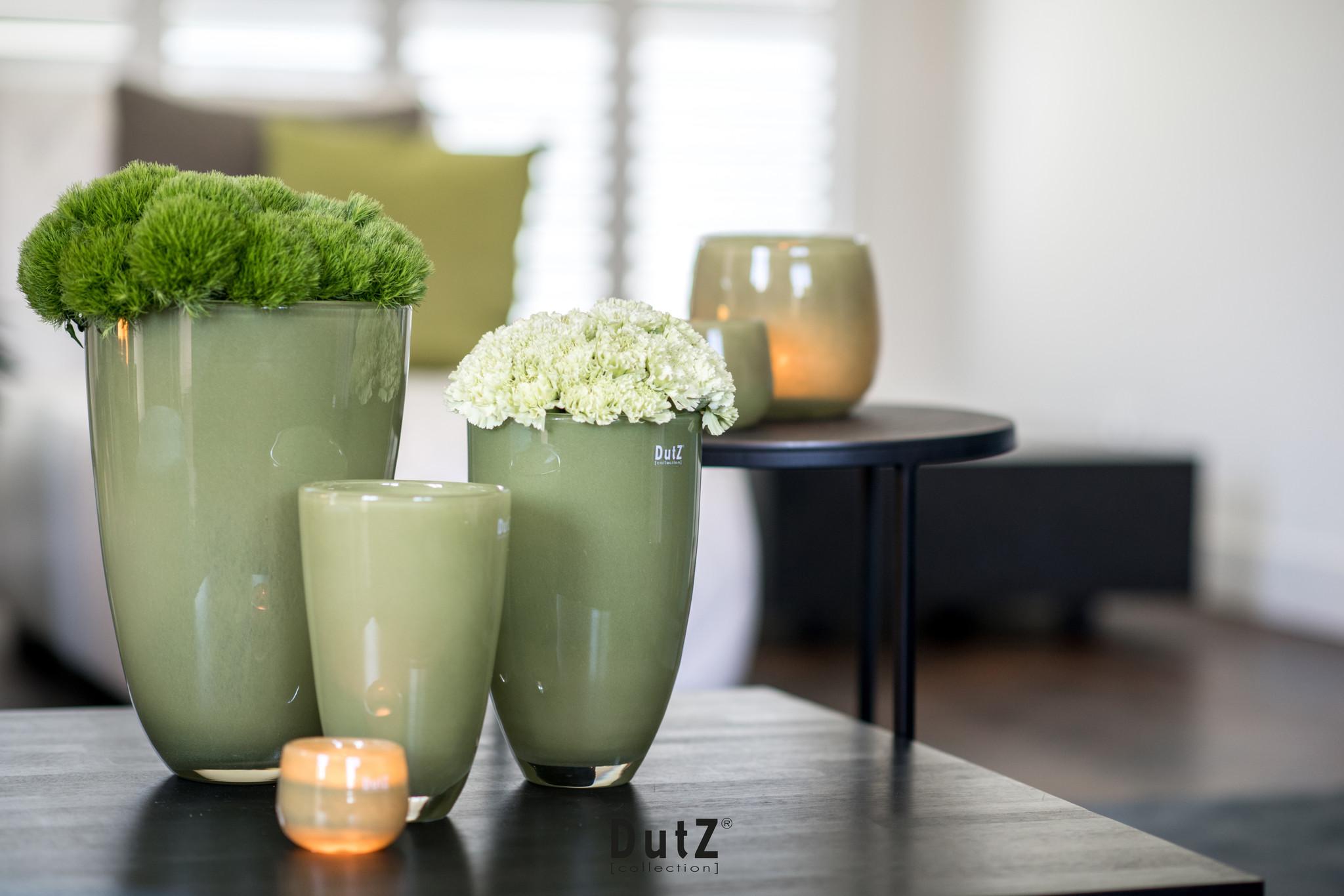 DutZ Flowervase Moss - H21 / H26 / H32 cm
