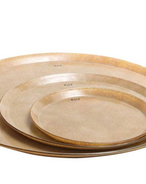 DutZ Golden plate small - D31 cm
