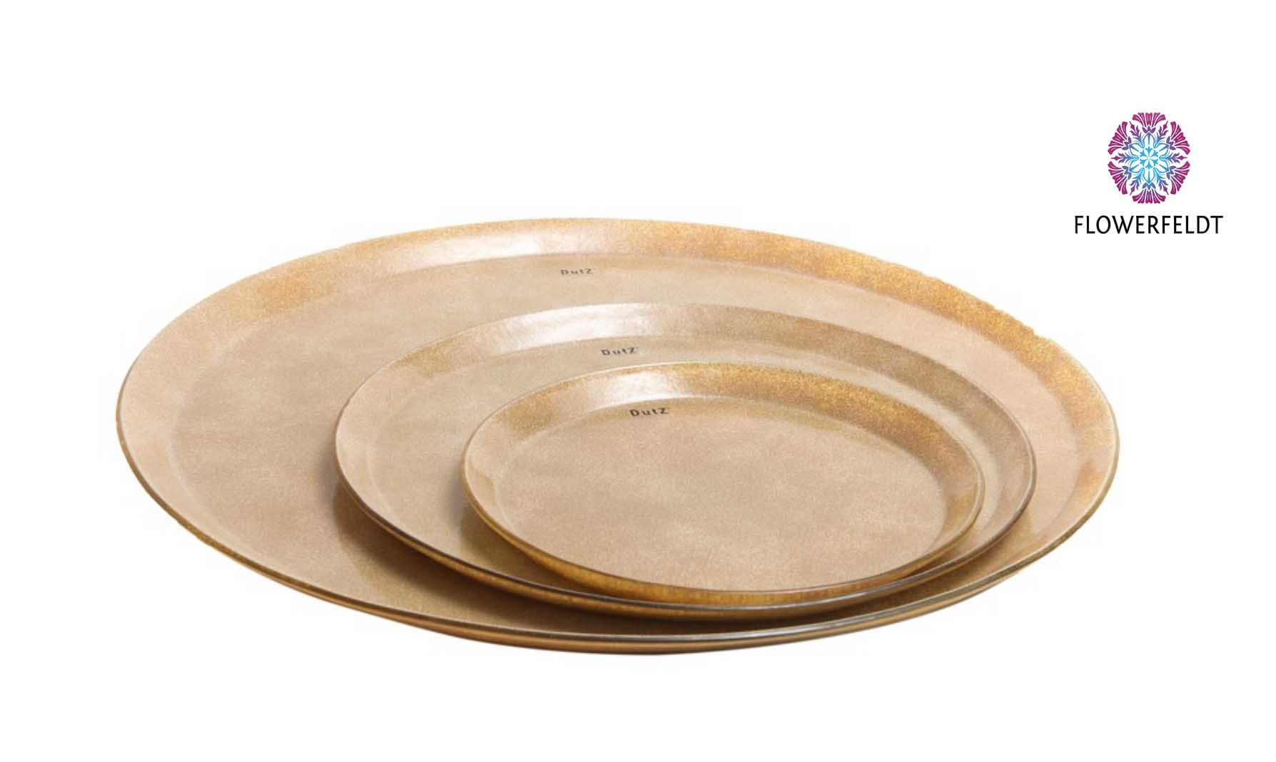 DutZ Golden plates medium - D45 cm