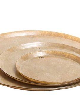 DutZ Gold platter large