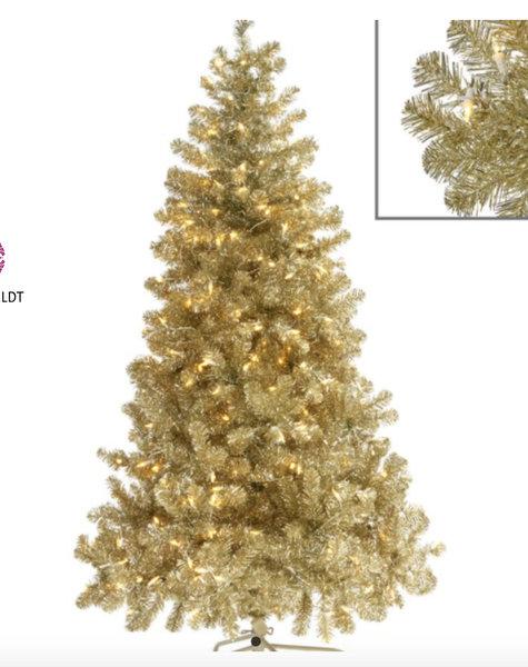 Kerstboom Kopen Baarn.Gouden Kerstboom Gouden Kerstbomen Kopen Flowerfeldt Com