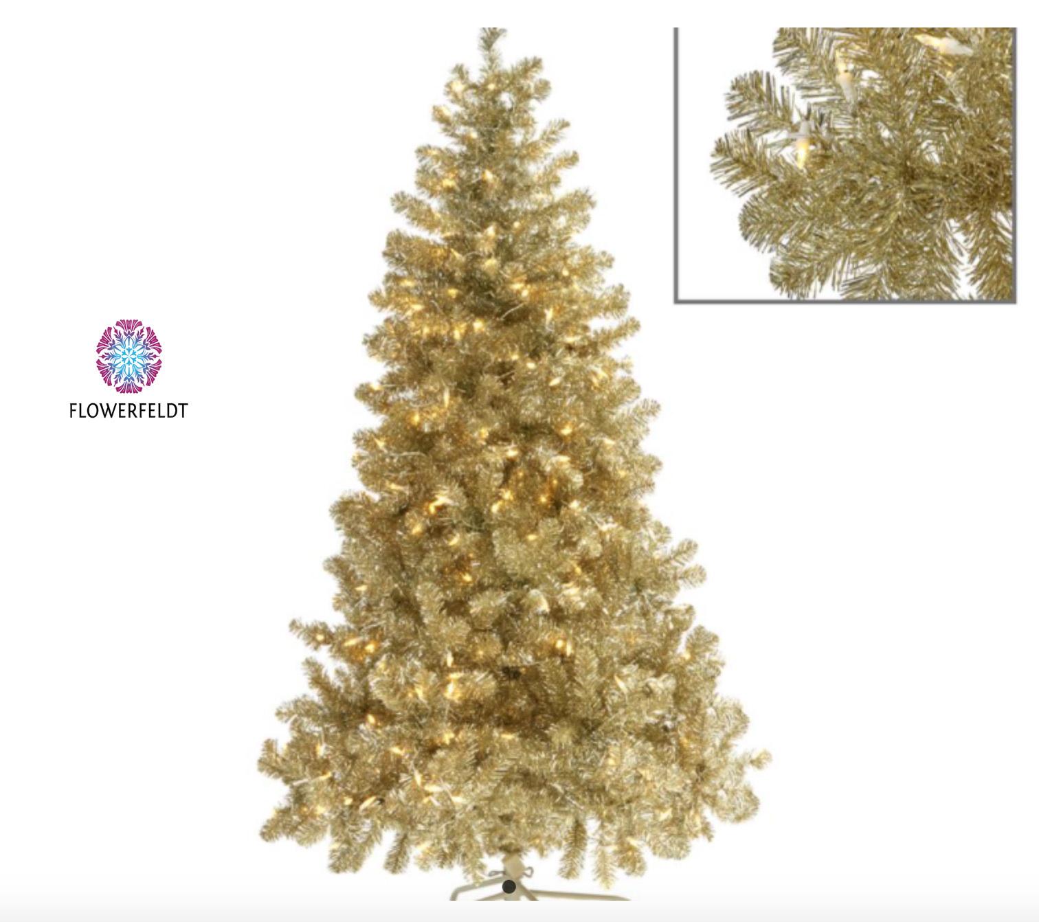 Goodwill Golden Christmas tree - H180 cm