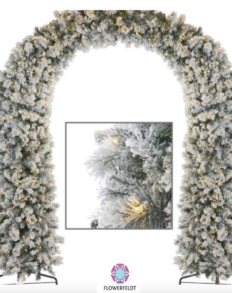 Goodwill Kerstboog besneeuwd - H254 cm