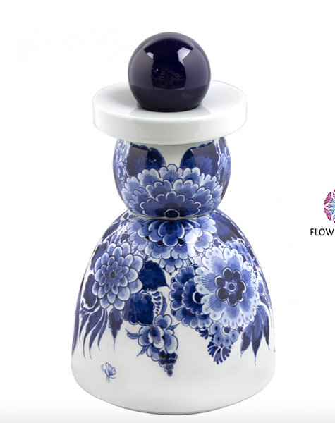Proud Mary Cobalt Flower - H30 cm