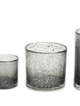 DutZ Cylinder vase grey chips