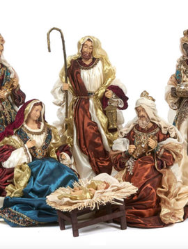 Goodwill Luxury nativity set