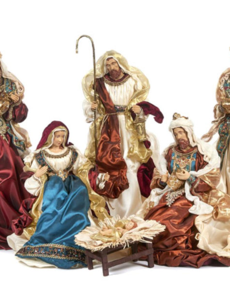 Goodwill Nativity figurines - H48 cm