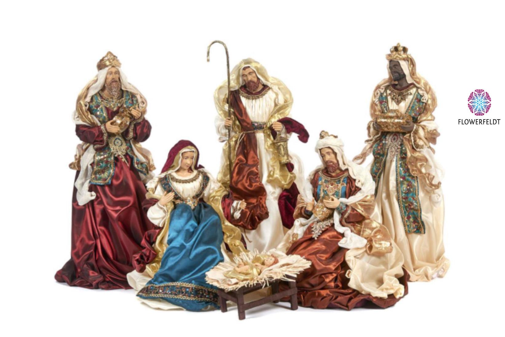 Goodwill Kerststal figuren - H48 cm