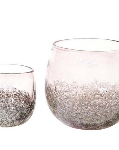 DutZ Pots aubergine bubbles - H12/ H17 cm