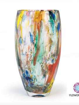Fidrio Vaas Art Colours Oval 40 cm