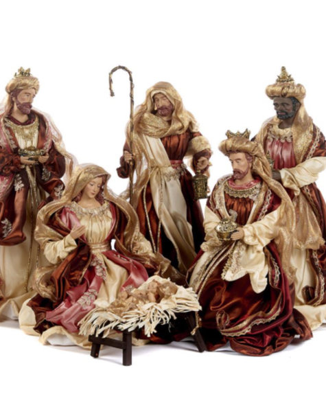 Goodwill Nativity scene - H45,5 cm