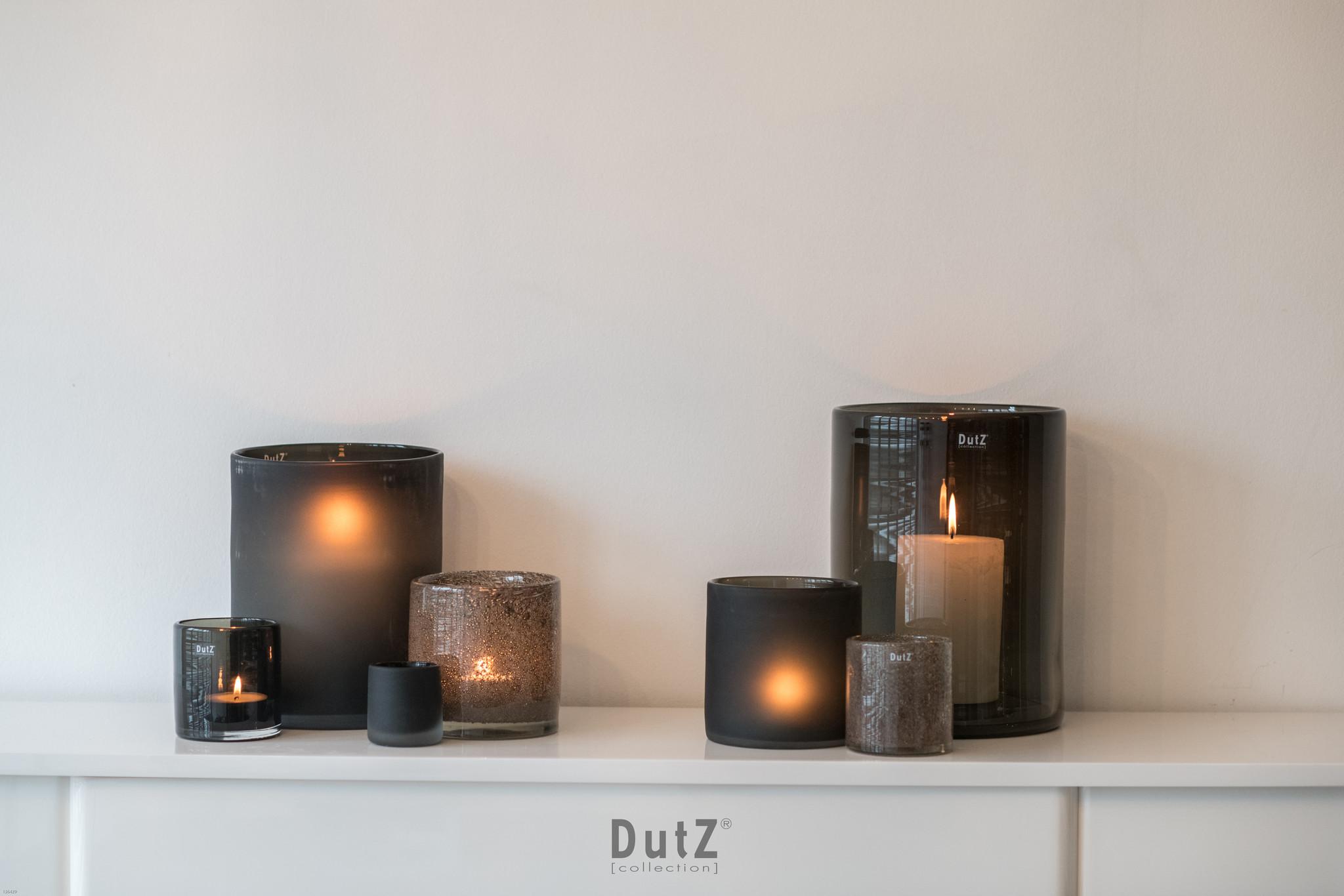 DutZ Cylinder vase grey chips - H7 / H10/ H14/ H19 cm