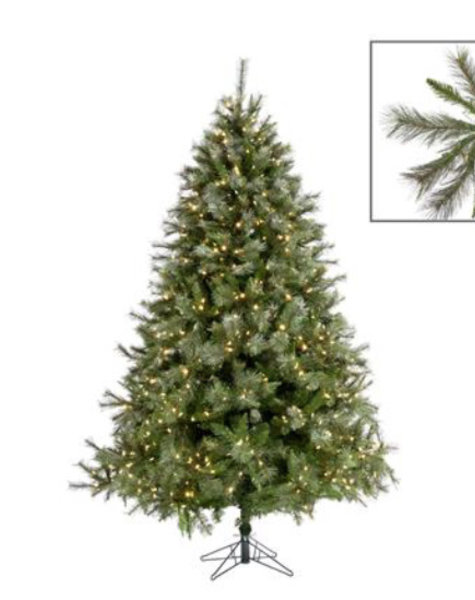 Goodwill Artificial Christmas tree 225 cm - DeLuxe