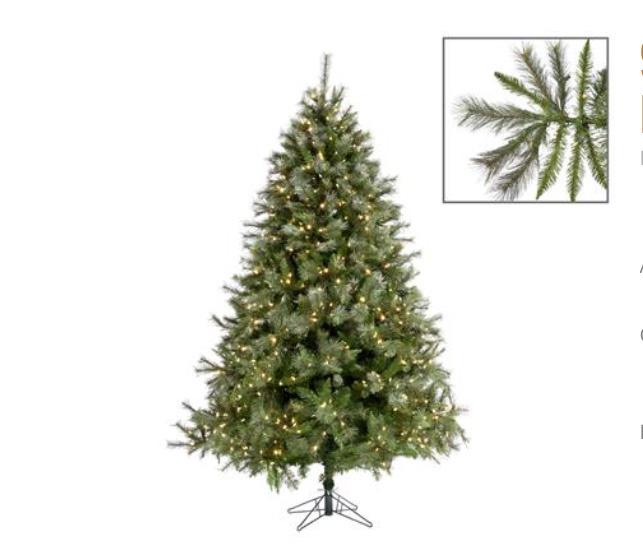 Goodwill Künstlicher Weihnachtsbaum 225 cm - DeLuxe