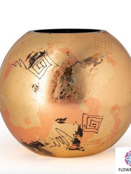 Fidrio Goude vazen golden art