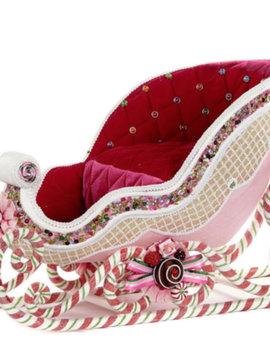 Goodwill Christmas sleigh pink