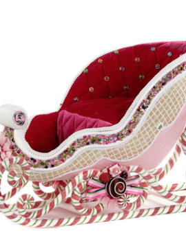Goodwill Weihnachts Schlitten pink