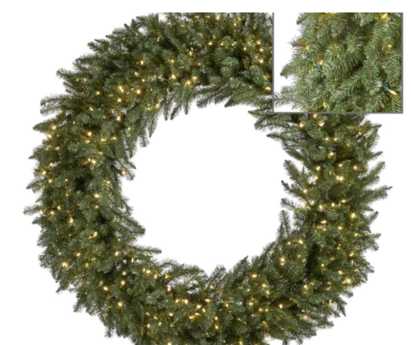 Goodwill Pre lit wreath - D152 cm