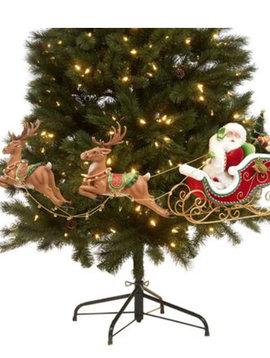 Goodwill Santa in sleigh