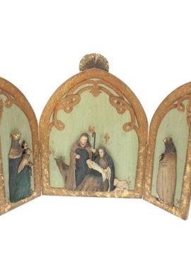 Goodwill Krippen Triptychon