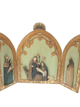 Goodwill Nativity scene triptych