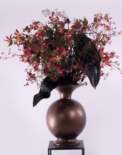 Copper vase - H 100 cm