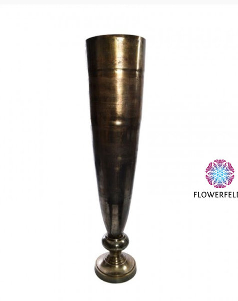 Gold vases Noel - H140 cm