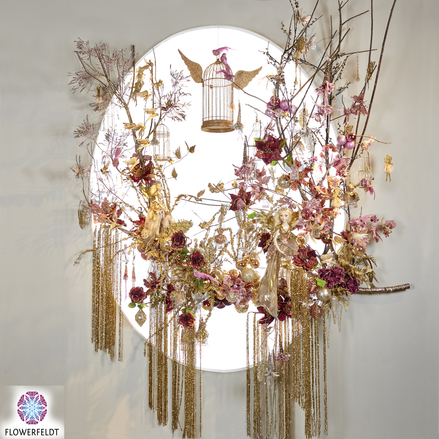 Goodwill Luxe wanddecoratie Fairy tale - H340 cm