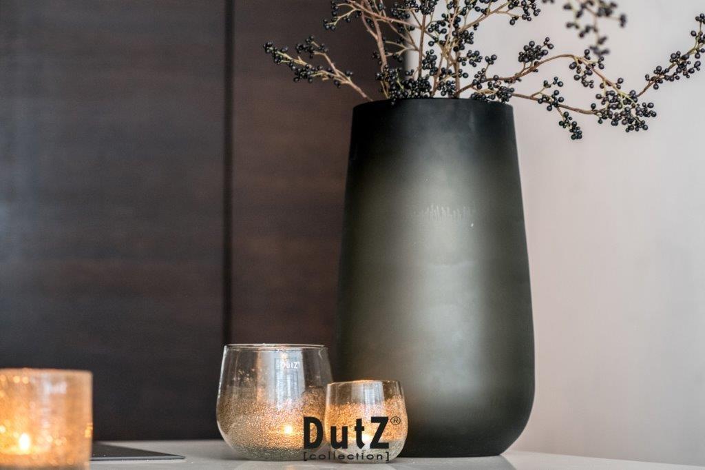 DutZ Vase Robert smoke mat - H54 cm