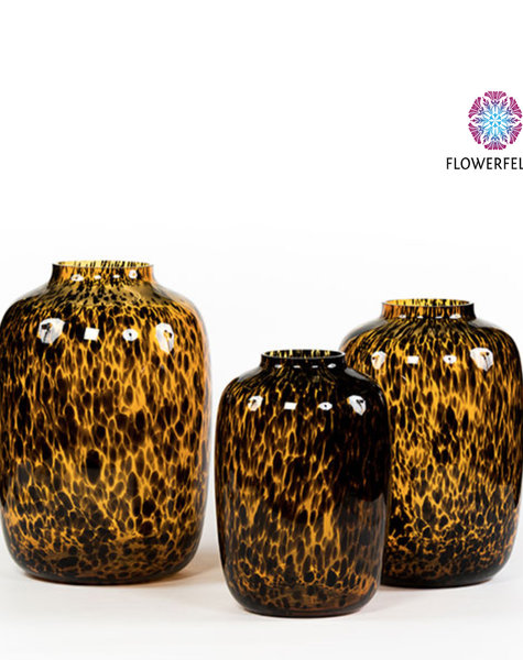 Vase Toronto Leppard XXL - H45 cm