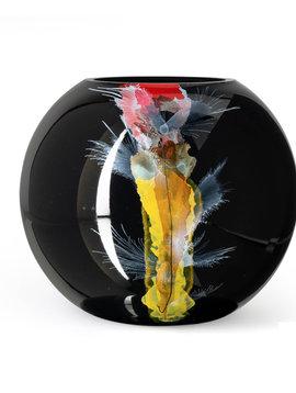 Fidrio Large black vase Nova