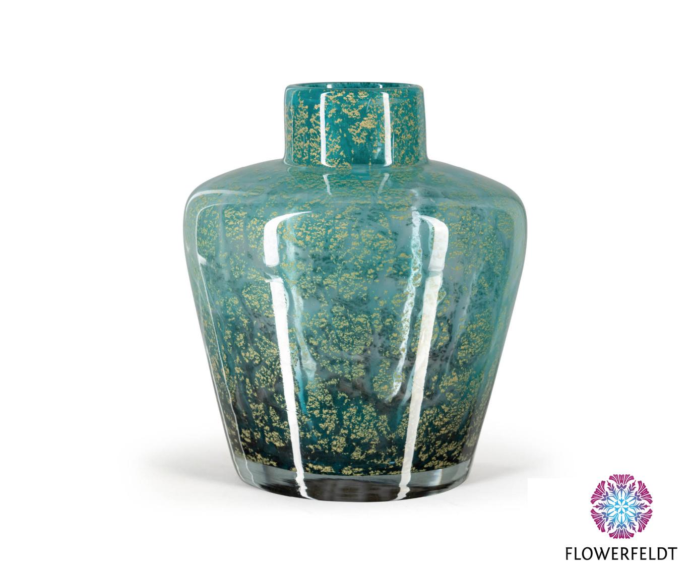 Fidrio Vases green icon Fiji - H25 cm