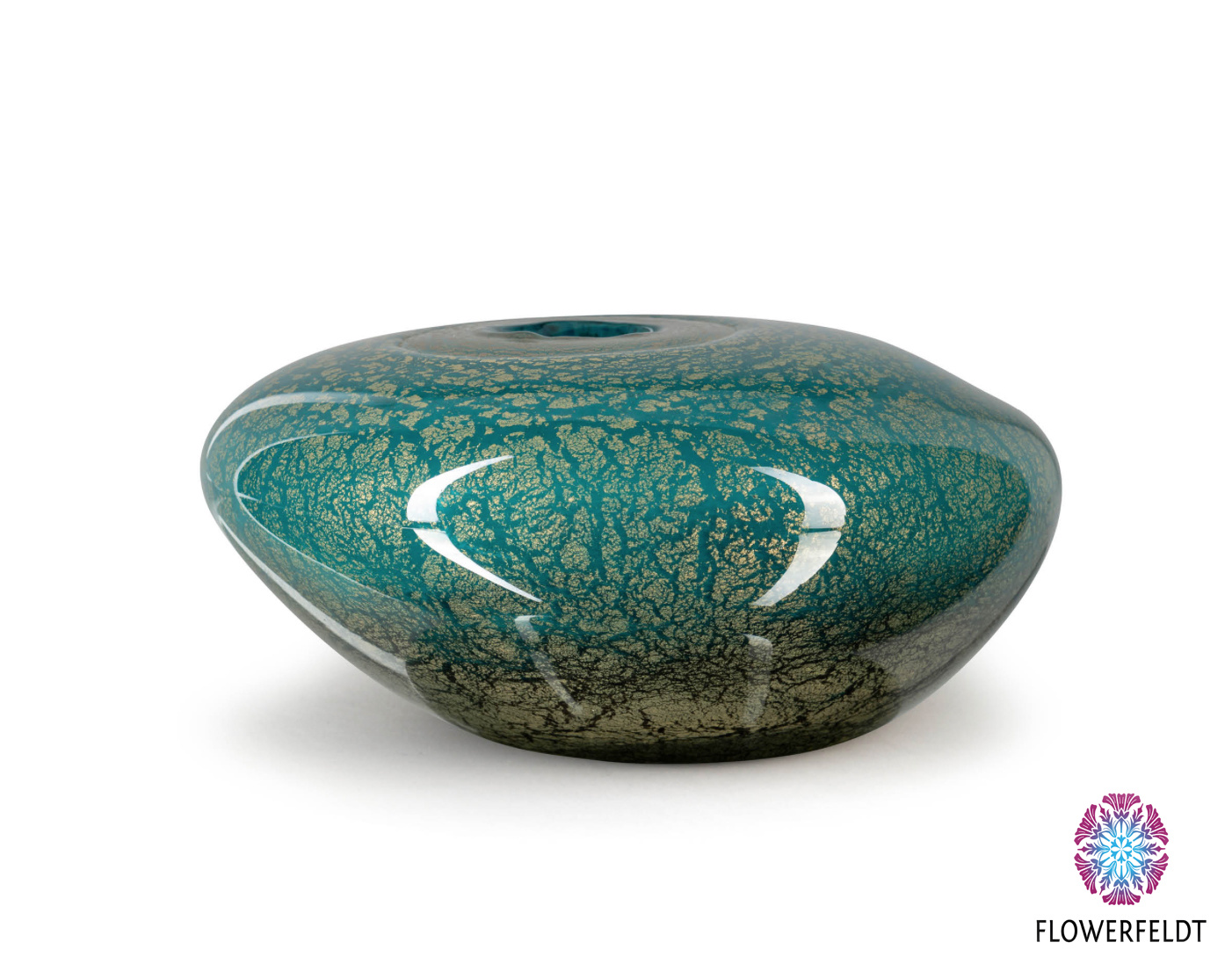 Fidrio Vases green Naturalis Fiji - D29 cm