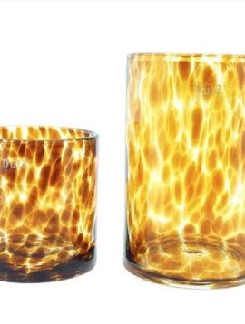 DutZ Zylinder Vase Leopard
