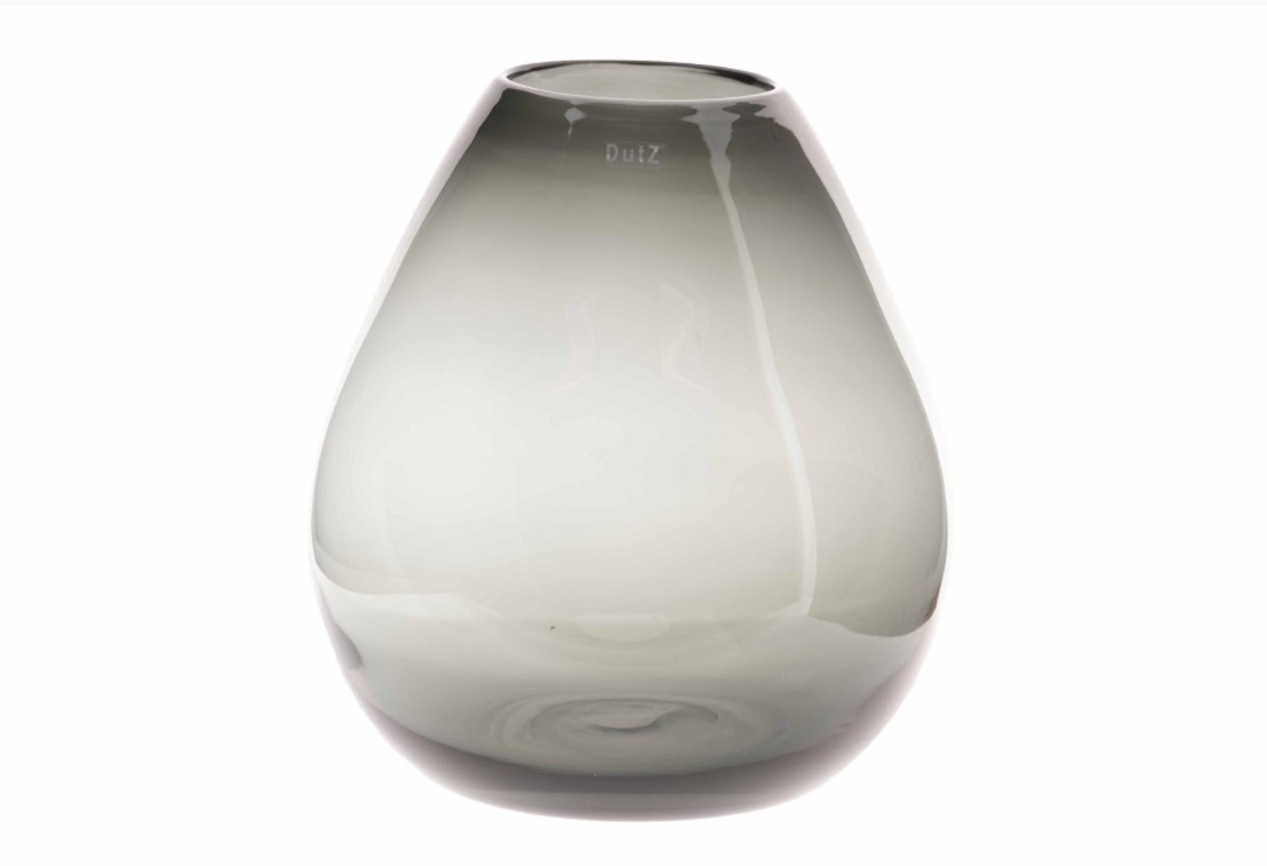 DutZ Vase Druba smoke - H32 cm
