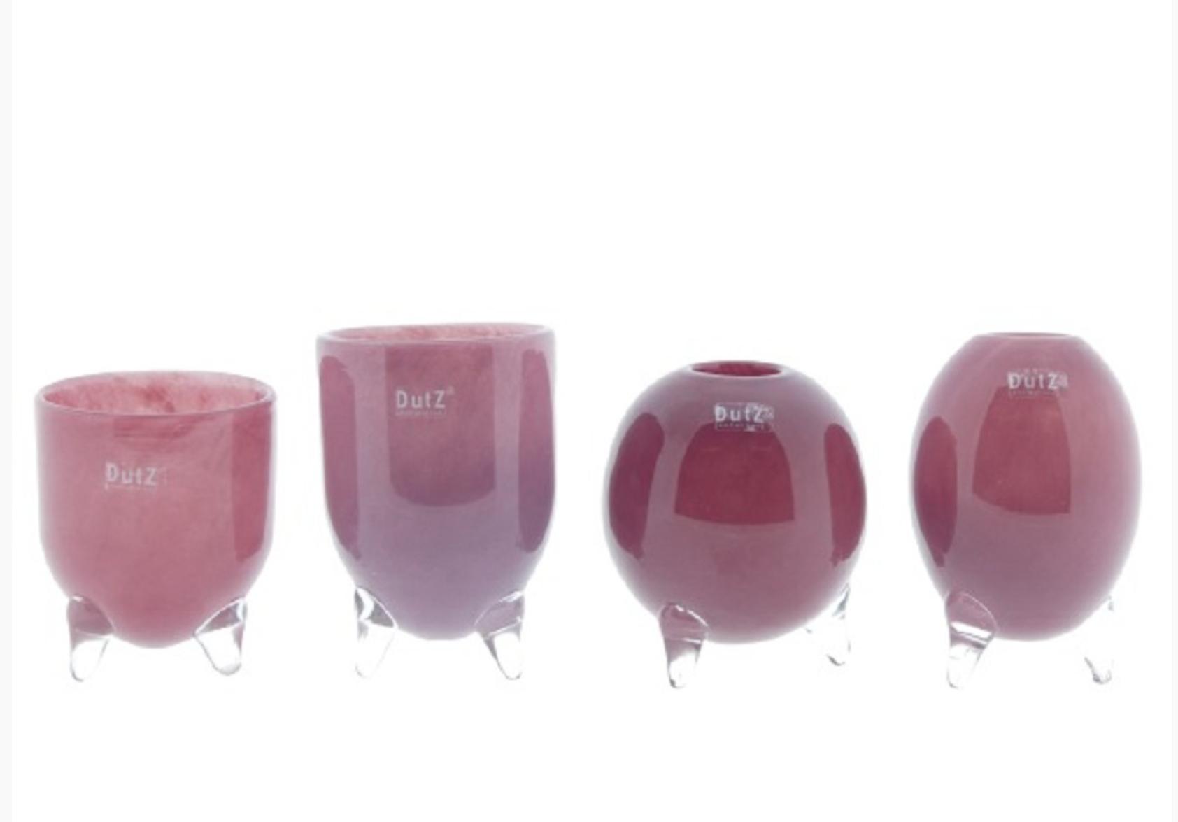 DutZ Evita 3 feet cranberry - Set of 4