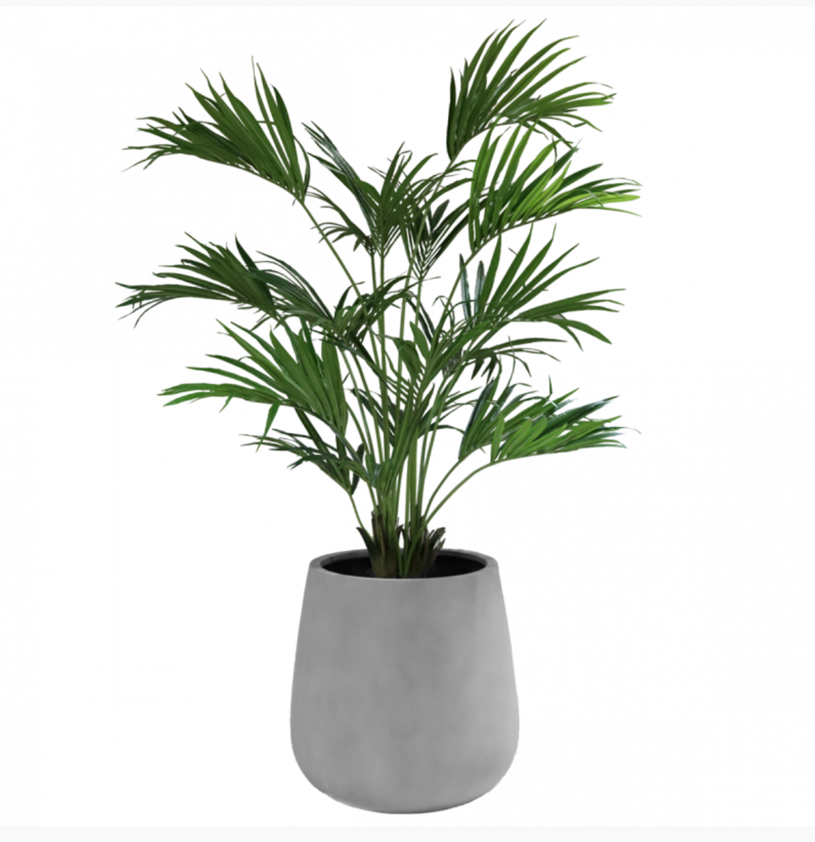 Flower pot New York grey - H67 cm