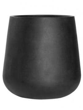 Flower pot New York black