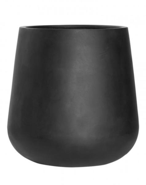 Flower pot New York black - H67 cm