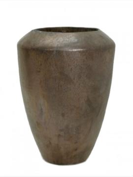 Buiten bloempotten brons