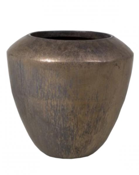 Bronze garden pot - H50 cm