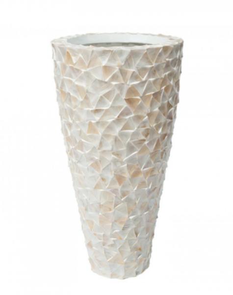 Shell vase Jeddah - H140 cm