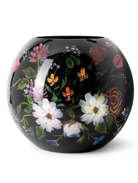 Fidrio Black vases Royal Flowers