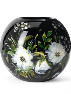 Fidrio Handbeschilderde vaas Alba