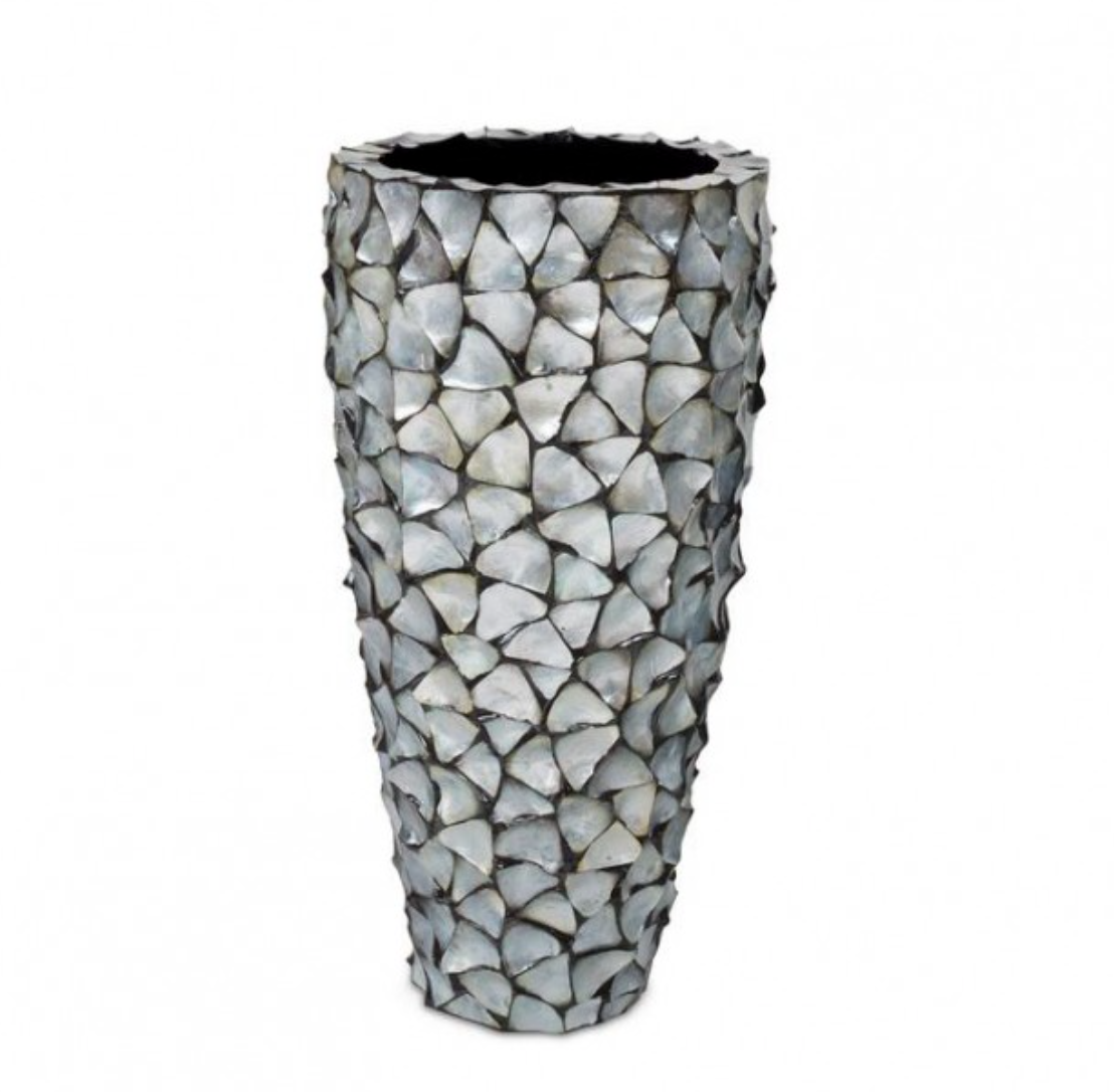 Shell vases Cannes - H96 cm