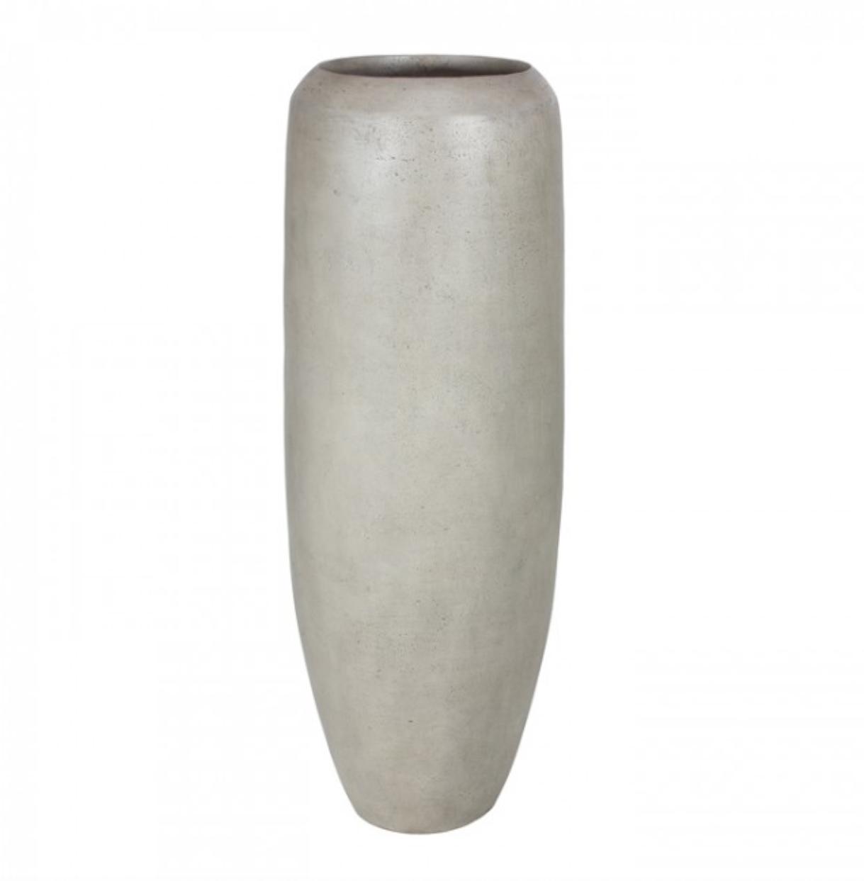 Gray plant pot Andorra - H150 cm