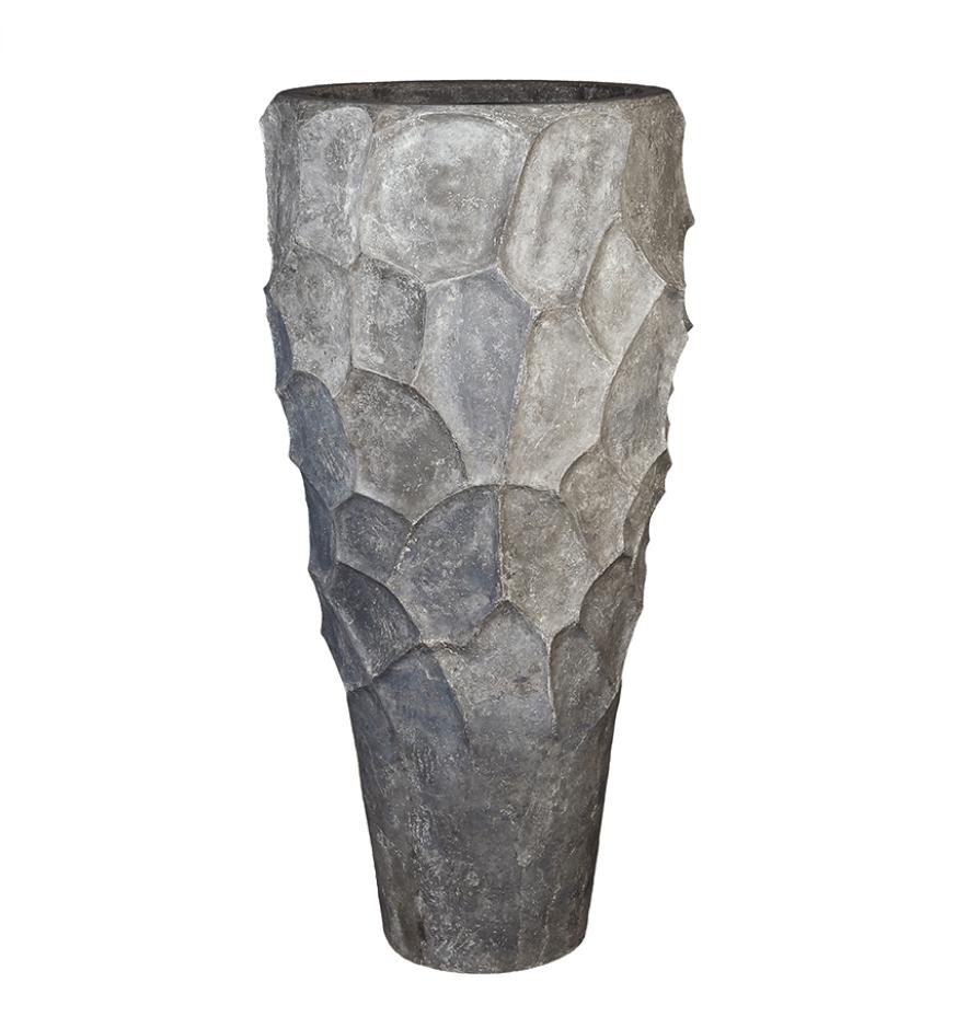 Designer planter Santorini - H220 cm