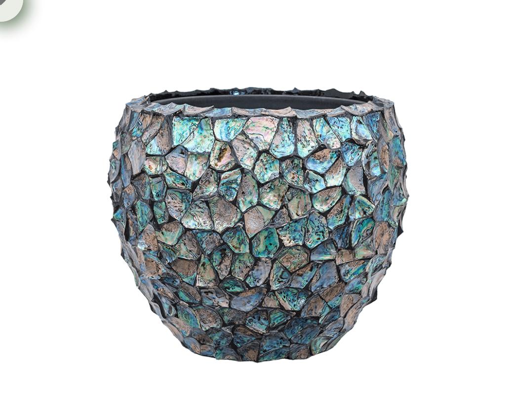 Luxury plant pot Atlantis - H45 cm