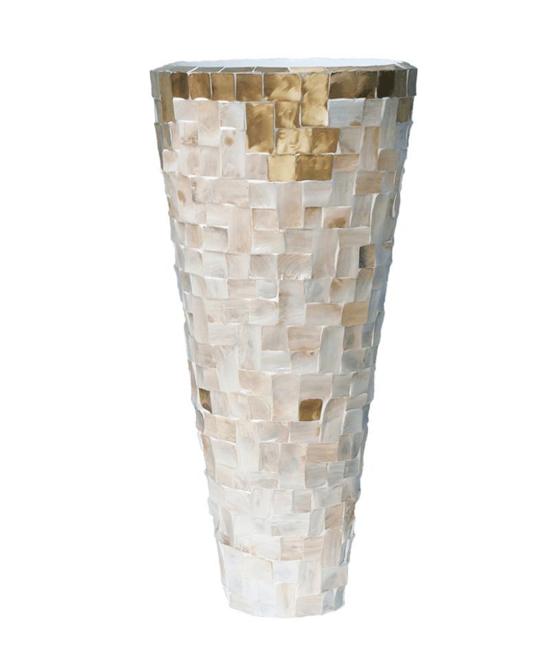 White indoor pot Singapore - H110 cm
