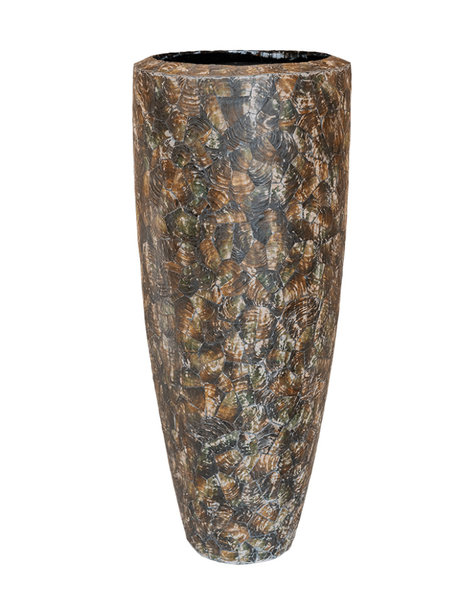 Brown plant pot Bern - H110 cm